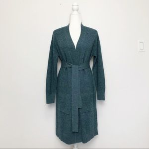 Repeat Cashmere Long Line Cardigan Duster S NWT